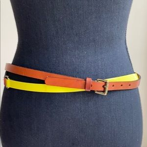 Maje double wrap waist belt